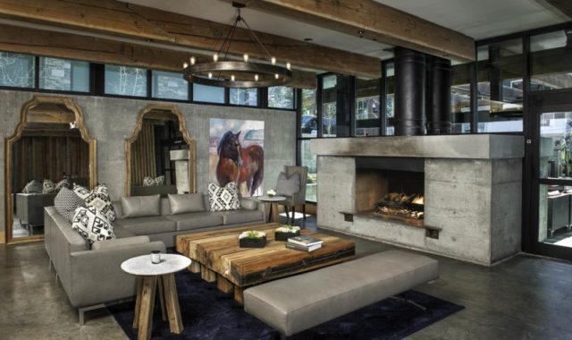 Stunning Concrete Interior Design Ideas