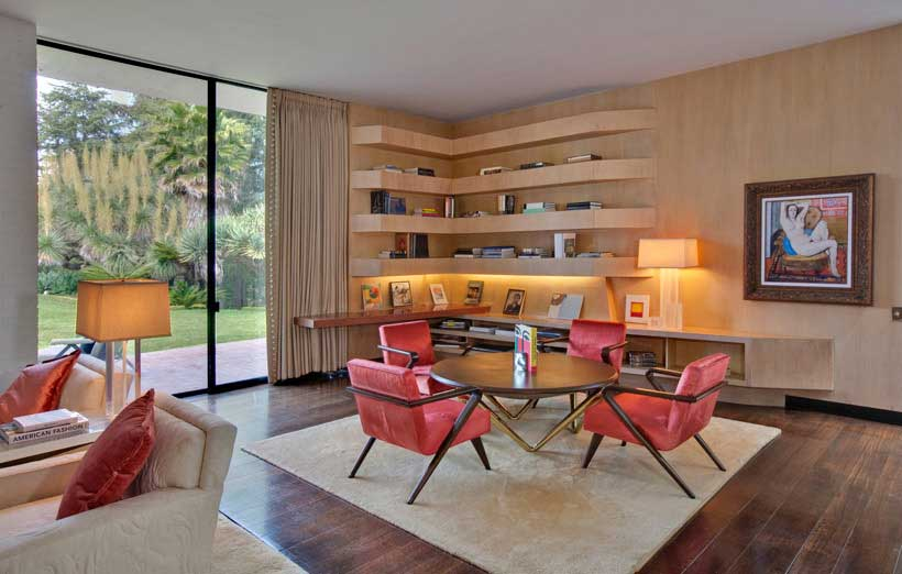 Mid Century Meets Contemporary At Brody House In Hollywood La